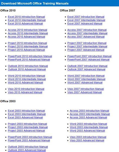 Microsoft Word 2010 Training Manual (ePUB/PDF)