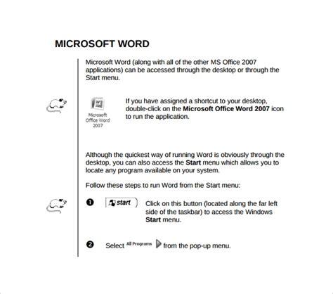 Microsoft Word Technical Manual Template (ePUB/PDF)