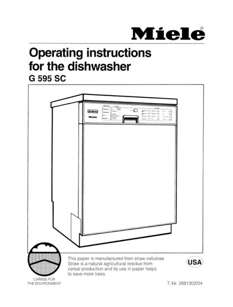 Miele Appliance Manuals (ePUB/PDF) Free