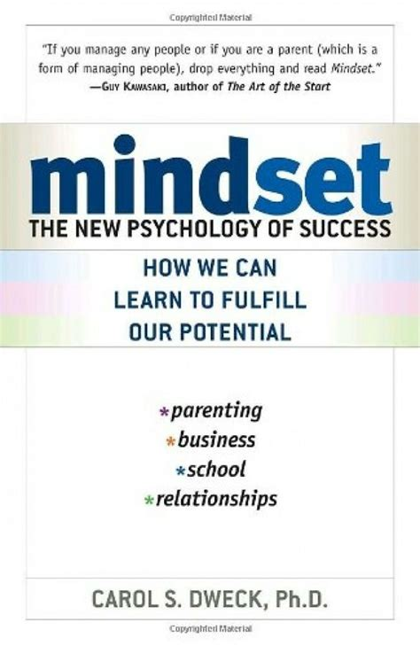 Mindset The New Psychology Of Success