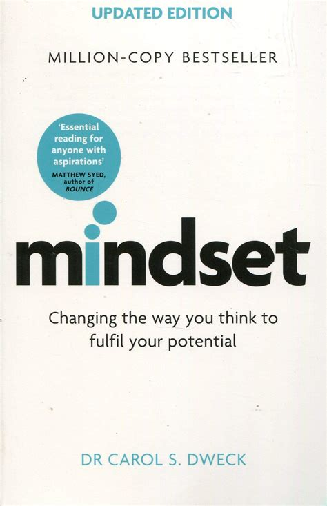 Mindset Updated Edition Changing The Way You Think To Fulfil