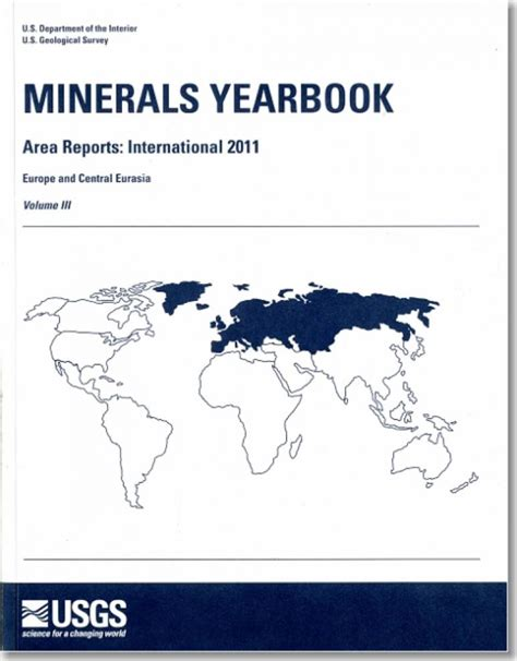 Minerals Yearbook Area Reports International Review 2014 Europe And Central Eurasia Minerals Yearbook Volume 3 Area Reports International Review