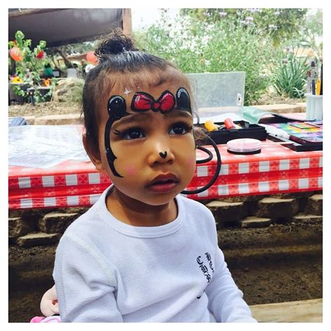 Minnie Mouse from North West s Cutest Baby Pictures