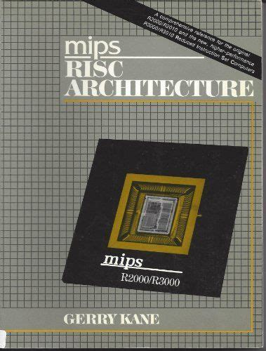 Mips R2000 Risc Architecture