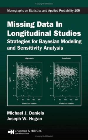 Missing Data In Longitudinal Studies Strategies For Bayesian Modeling And Sensitivity Analysis Chapman HallCRC Monographs On Statistics And Applied Probability