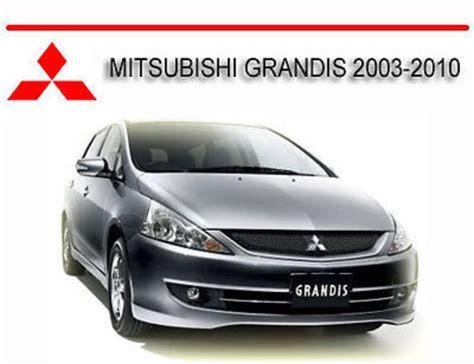 Mitsubishi Grandis 2003 2010 Workshop Repair Manual (ePUB/PDF)