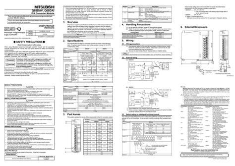 Mitsubishi Q68adi Manual (ePUB/PDF)