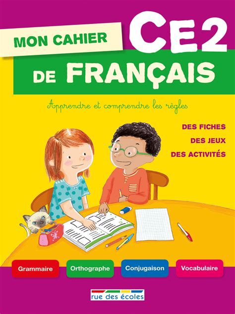 Mon Cahier De Francais Ce2