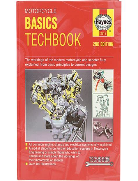 Motorcycle Basics Manual Haynes Techbook (ePUB/PDF)