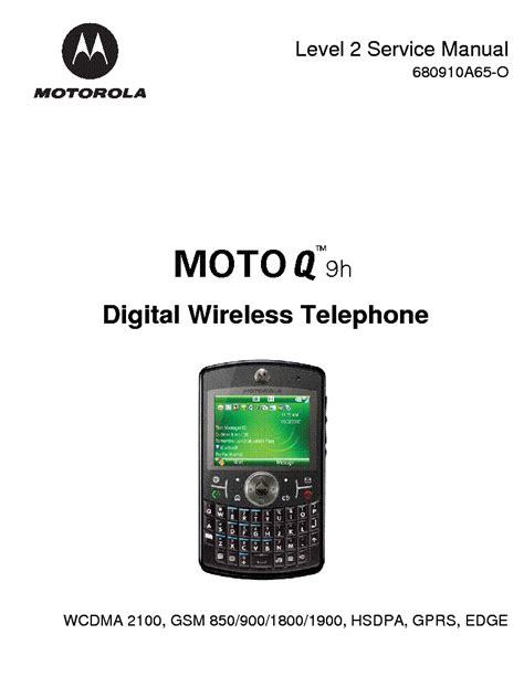 Motorola Q9 Manual (ePUB/PDF)