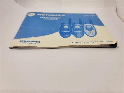 Motorola T5410 Manual (ePUB/PDF) Free