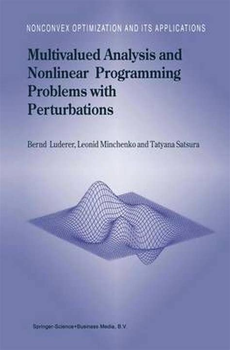 Wondrous Multivalued Analysis And Nonlinear Programming Problems With Wiring Digital Resources Honesemecshebarightsorg