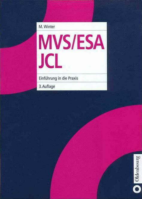 Mvs Esa Jcl Winter Michael (ePUB/PDF) Free