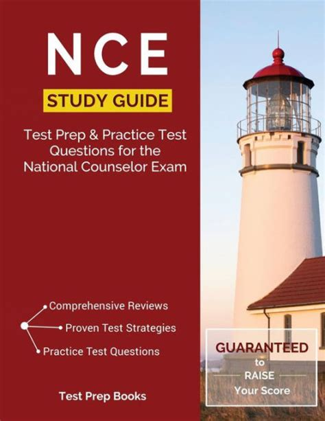 NCE Study Guide Exam Prep Practice Test Questions For The National Counselor Exam