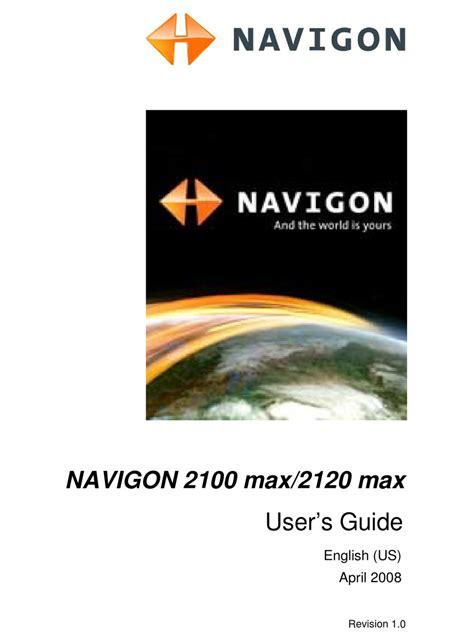 Navigon 2100 Max Owners Manual (ePUB/PDF) Free