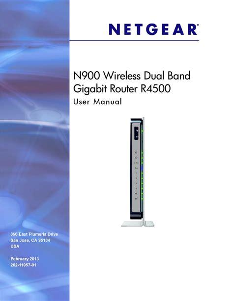 Netgear N900 User Manual (ePUB/PDF) Free