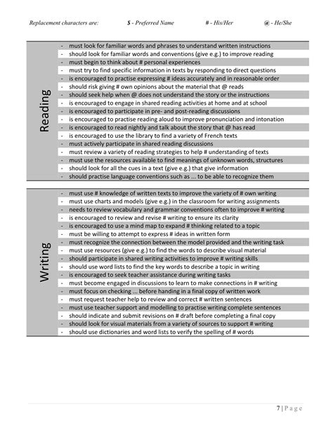Next Steps Science Report Card Comments (ePUB/PDF) Free