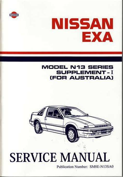 nissan exa manual