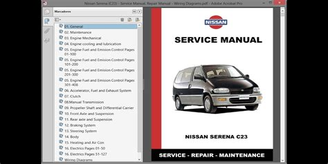 nissan serena wiring diagram free ((pdf & epub)) on bad boy mower