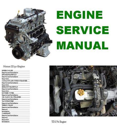 Nissan Zd30 Td27ti Engine Service Repair Workshop Manual (ePUB/PDF) Free