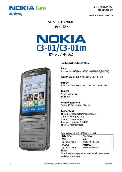 Nokia C3 1 Manual (ePUB/PDF)