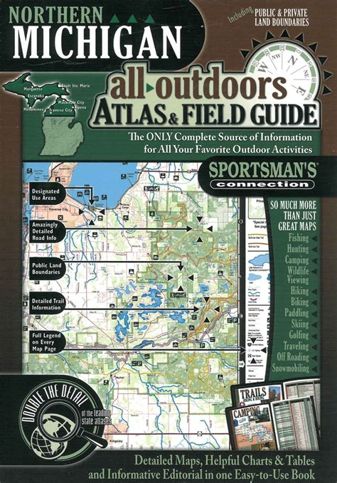 Northern Michigan Alloutdoors Atlas Field Guide