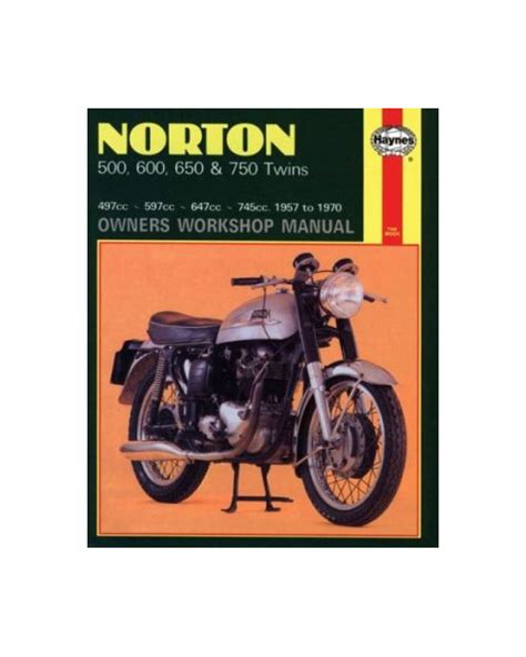 Norton Twins Owners Workshop Manual Free Ebook (ePUB/PDF)