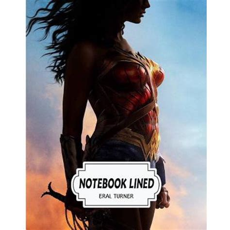 Notebook Wonder Women Notebook Journal Diary 120 Lined Pages 8 X 10