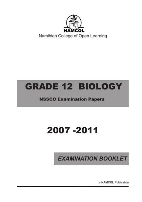 Nssc Examination Question Papers (ePUB/PDF)