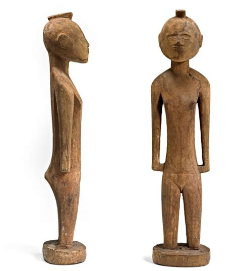 Nukuoro Sculptures From Micronesia