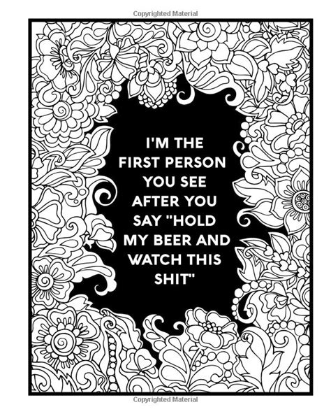 Nurse Coloring Book Sweary Midnight Edition A Totally Relatable Swear Word Adult Coloring Book Filled With Nurse Problems