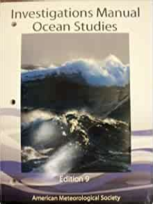 Ocean Stus Investigations Manual 9th Edition Answer Key ... on