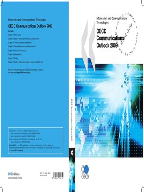 Oecd Communications Outlook 2011 Oecd Publishing (ePUB/PDF) Free
