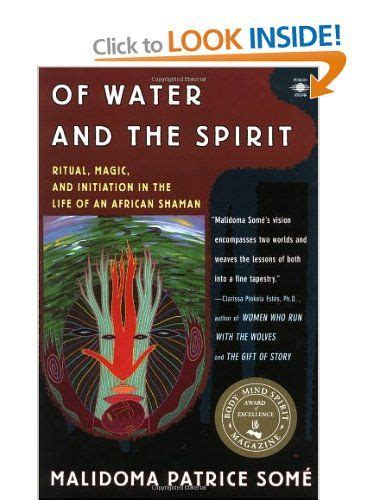 Of Water And The Spirit Ritual Magic And Initiation In The Life Of An African Shaman Arkana