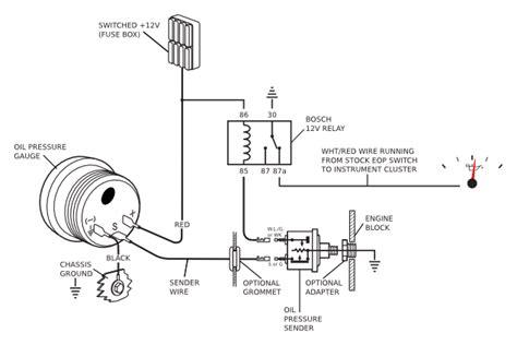 Oil Pressure Sender Wiring Diagram (ePUB/PDF)