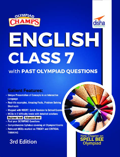 Olympiad Champs English Class 7 By Na - Olympiad Champs