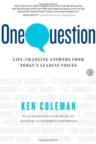 One Question LifeChanging Answers From Todays Leading Voices