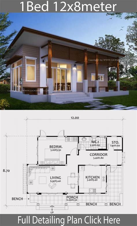 One Bedroom House Plans With Photos