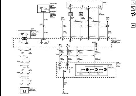 Onstar Wiring Harness Escalade Radio Parts Accessories Gm Onstar