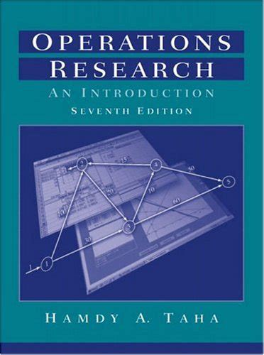 Operations Research An Introduction United States Edition