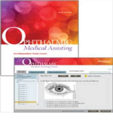 Ophthalmic Medical Assisting An Independent Study Course Textbook And Online Exam