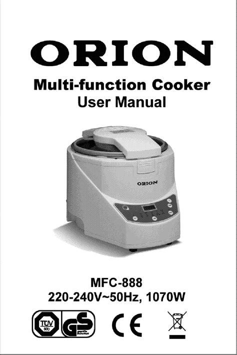 Orion User Manual (ePUB/PDF) Free