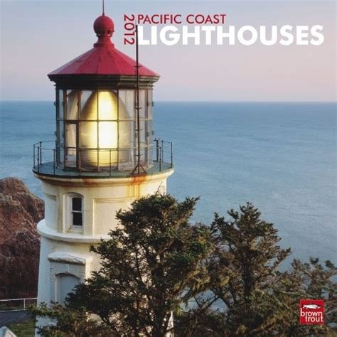 Pacific Coast Lighthouses 2012 Square 12x12 Wall Calendar