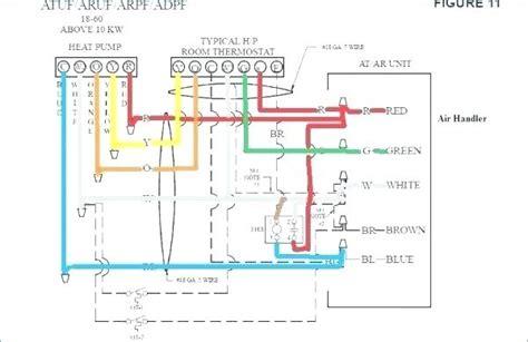 pack wiring diagram goodman heat pumps