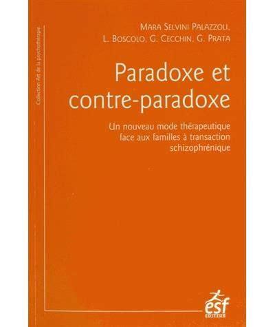 Paradoxe Et Contre Paradoxe Un (ePUB/PDF) on