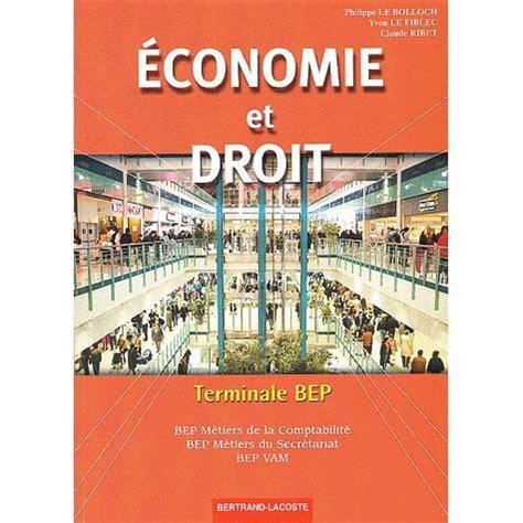 Parcours Economie Droit 2eme Bep Ancienne Edition By Piroche 2004 ...
