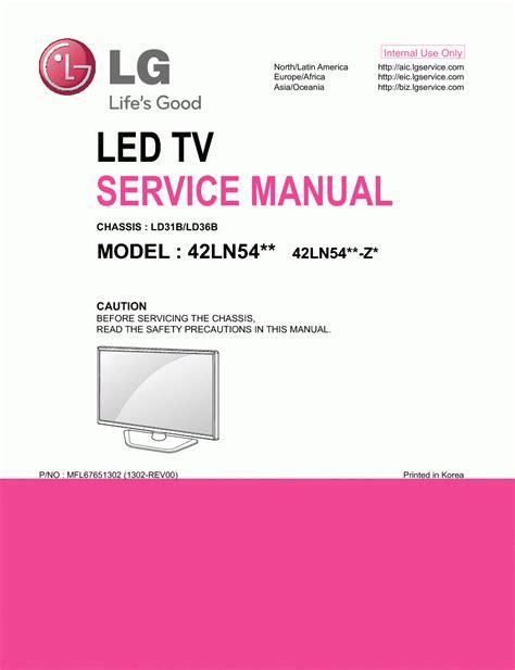 Book] Lg 42ln540s Led Tv Service Manual Download - pk.ead.faveni ...