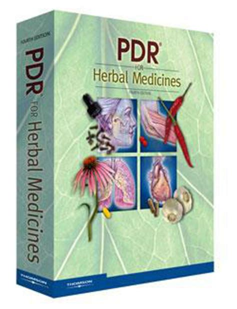 Pdr For Herbal Medicines Physicians Desk Reference For Herbal Medicines