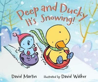 Peep And Ducky Its Snowing