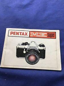 Pentax Me Instruction Manual (ePUB/PDF) Free
